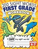 200 Sight Words First Grade Workbook Ages 6-7: 135