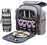 Picnic Backpack for 4 | Picnic Basket | Stylish