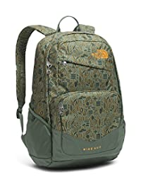 The North Face Wise Guy Backpack - duck green/iconversational print, one size