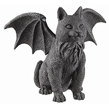 Private Label Winged Cat Gargoyle Statue Figurine Myth Fantasy