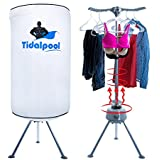 Electric Portable Clothes Dryer - Laundry Drying Rack with High Powered 1200W Heater and Germ Killing UV Light...
