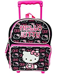 Hello Kitty Toddler Rolling Backpack and Lunch Bag Set, Size 12