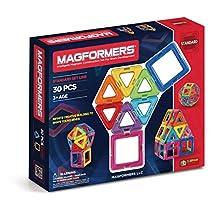 Magformers Construction Set, Rainbow (30-Piece)