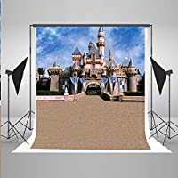 Kate 5 x 7ft(1.5x2.2m) Castle Photography Backdrops for Photographers Cotton No Wrinkle Seamless Collapsible Reused for Children Fairy Tale Castle Photo Backdrop