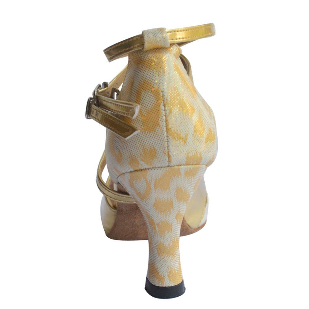 Erwachsene lateinische Schuhe/Moderne mit Schuhe mit Schuhe/Moderne hohen Absätzen/Freundschaft Tanzschuhe/Gleiten Sie einfach Toe Tanzschuhe A e6b5c2