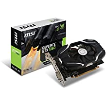 MSI GAMING GeForce GTX 1060 6GB GDRR5 192-bit HDCP Support DirectX 12 Single Fan VR Ready OC Graphics Card (GTX 1060 6G OCV1)