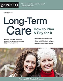 Book Cover: Long-Term Care: How to Plan & Pay for It