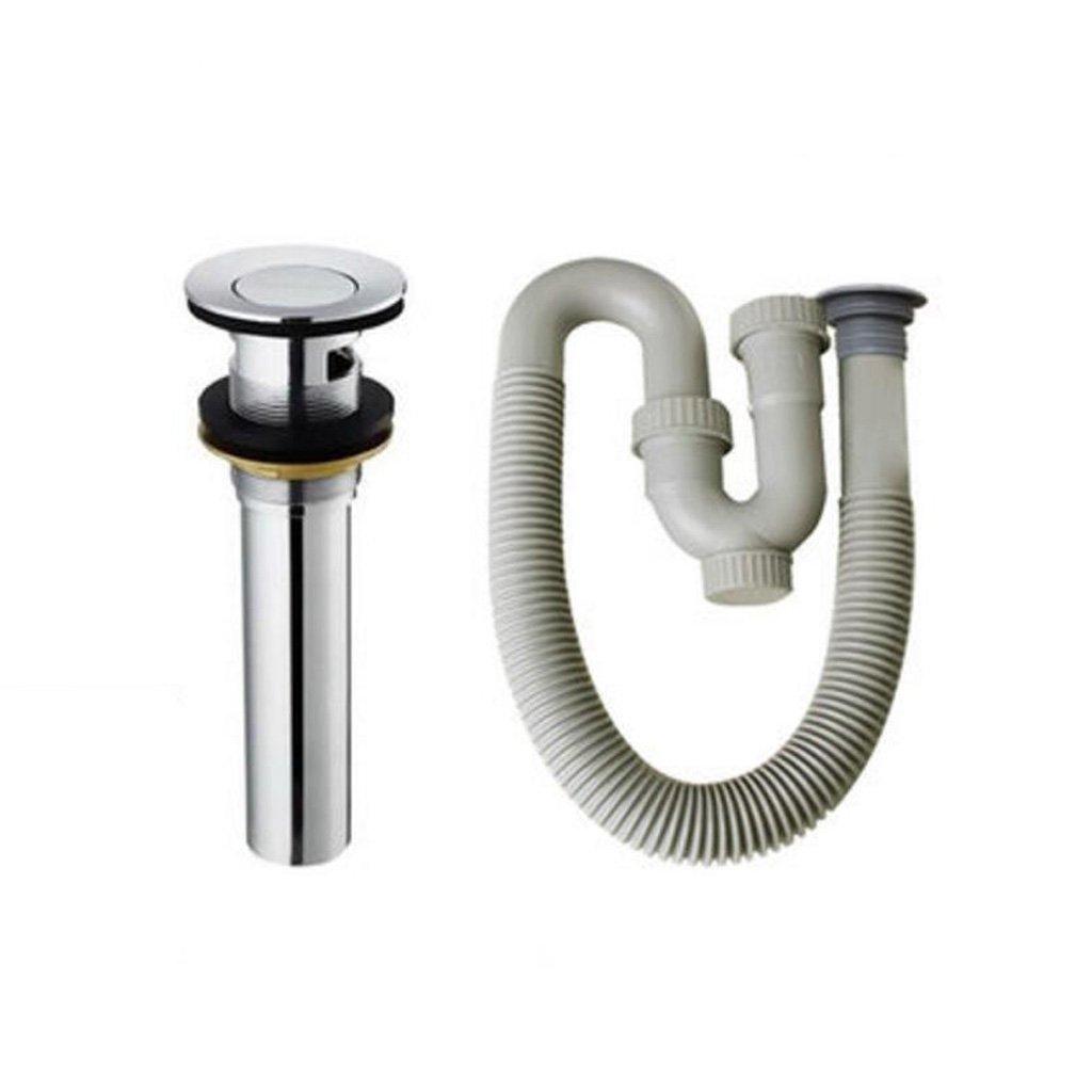 Wddwarmhome Tubo di scarico del filtro dell'acqua del deodorante del serbatoio dell'acqua (dimensioni   Flip type)