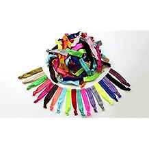 Z-COMFORT Rainbow Ribbon No Damage Hair Ties (60-Pack)