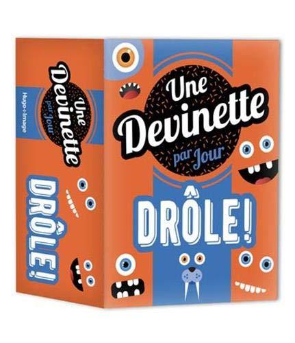 Amazon Fr Une Devinette Drole Par Jour 2021 Collectif Livres