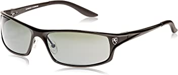 e4ec58974d4 Fatheadz Eyewear Men s Knuckleduster Polarized Wrap Sunglasses