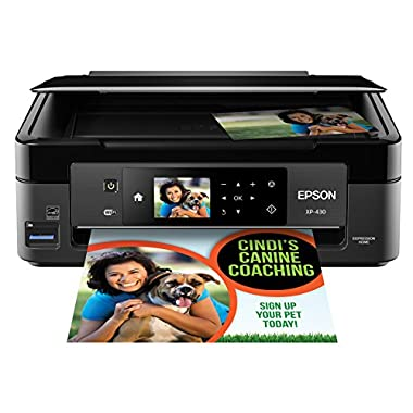 Epson Expression Home XP-430 Wireless Color Photo Printer with Scanner and Copier
