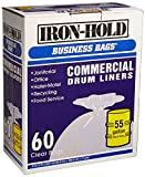 iron-hold business bags commercial drum liners 60