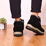 Men's Cotton Boots Winter Warm Velvet Thickening