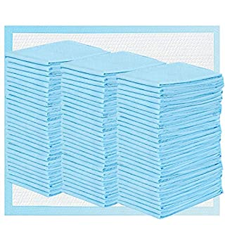 Disposable Changing Pads 3x50 Pack Baby Bed Pads Waterproof Super Soft, Ultra Absorbent for Baby Underpads Diaper Changes 13x18 in 150 Count