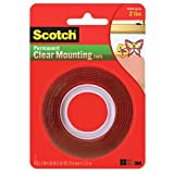 Scotch Clear Mounting Tape, 1-inch x 60-inches, 1-Roll (4010)