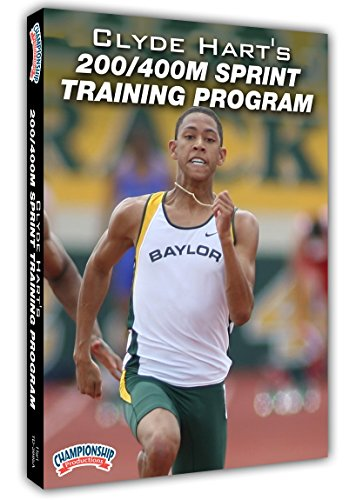 Championship Productions Clyde Hart's 200/400M Sprint Training Program DVD by Championship Productions