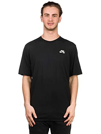 45a05266 Nike SB Men's SB Skyline Dri-FIT Cool GFX Short Sleeve Shirt, Black/White,  SM at Amazon Men's Clothing store: Skateboarding Shoes