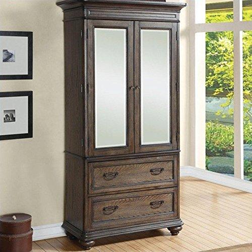 Riverside Furniture Armoire (Armoire in Old World Oak)