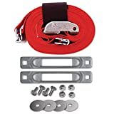 SNAPLOCS CART STRAP ANCHOR KIT with 2''x16' CAM for Platform Trucks