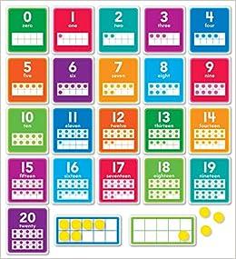 0–20 Numbers Set Bulletin Board: Scholastic Teacher's Friend ...