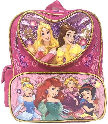 "Disney Princess Mermaid & Snow white 12\"" Small backpack"