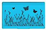 Wellspring Card Case, Nat Elements Blue Butterfly (Cardcase-bluebutterfly)