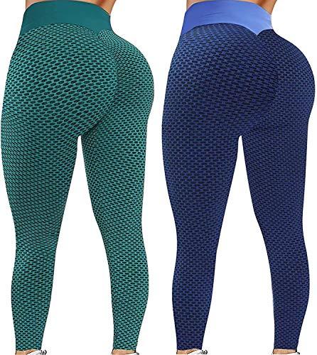 SmallYin ZouYiL Stretchlegging voor dames, compressie, sportlegging, fitness, loopbroek, billen, yogabroek…