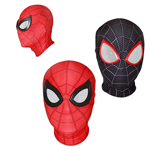 Cosplay Spiderman Mask Headgear Halloween Costume Prop -