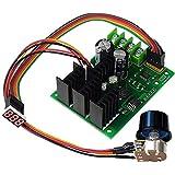 uniquegoods 6V 12V 24V 48V 30A PWM DC Motor Speed Regulator DC Motor Drive Switch Digital Display Tachometer