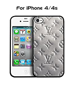 Cool Funda Case for Iphone 4 / 4s Brand Logo Louis And Vuitton Ultra Thin Slim Dust Proof Impact Resistant Tough Customized