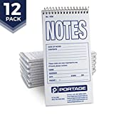 Notes Notebook Top Spiral Reporter's Size, 70