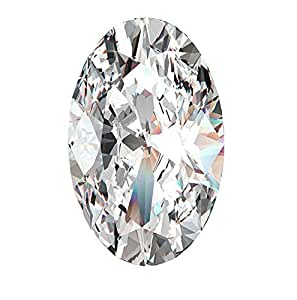 Neerupam Collection White Cubic Zirconia AAA Quality 13x18 mm Diamond Cut Oval Shape 50 pcs loose gemstone