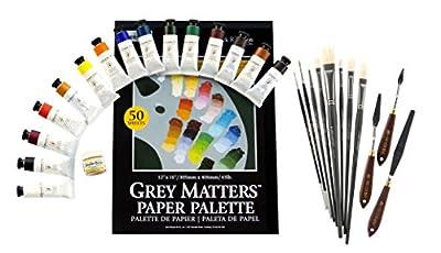 Alan Flattmann AF003 Basic Oil Painting Workshop Kit