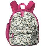 Vintage Seamless Teens Cute Patterns Printed Backpack School Bag Travel Daypack