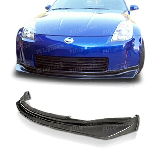 PULIps NS3503SPFAD - N1 Style Front Bumper Lip For Nissan 350z 2003-2005