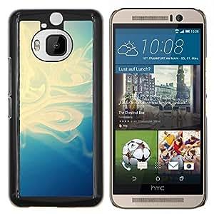 LECELL--Funda protectora / Cubierta / Piel For HTC One M9Plus M9+ M9 Plus -- Motif bleu --