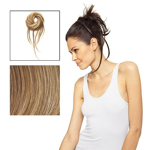 Dancing with the Stars Salsaloosa Hair Wrap Tru2Life Styleable Hairpiece R14/25 Honey Ginger