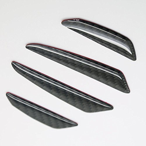 Generic Real Carbon Fiber Car Side Door Edge Protection Guard Trim Sticker Universal Fit For Benz C E S GLA GLK GLC CL ML GL SL SLK CLS SLS GT