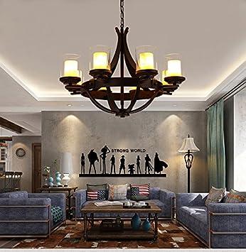 Exceptionnel DBKLL Nordischen Stil Klassische Wohnzimmer, Esszimmer, Schlafzimmer,  Runder Kronleuchter, American Style Retro