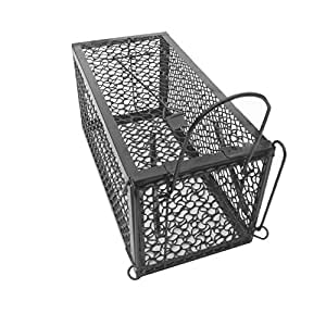 Skycabin 1 Door Humane Animal Live Cage,Rat Cage Trap,Mouse Catcher for Rat, Rodent, Mouse, Hamster,Mole, Weasel,Gopher,Squirrel and More Small Rodents Measurements:9.45 X 4.5 X4.5Inch