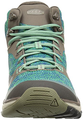 Mid Malachite Women's Waterproof KEEN Hiking Shoe Terradora Cord Bungee q8OHw4EFW