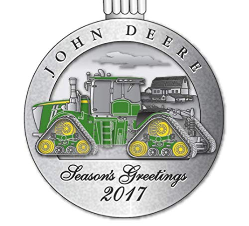 John Deere Officially Licensed 2017 Pewter Ornament - LP68513