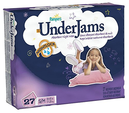 Pampers UnderJams Underwear - Girls - Small/Medium - 27 ct