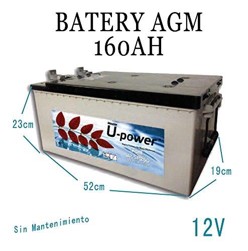 Batterie Solar zyklenfest AGM 160Ah Solar Photovoltaik