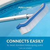 Blue Devil Pool Wall Brush Deluxe with Poly