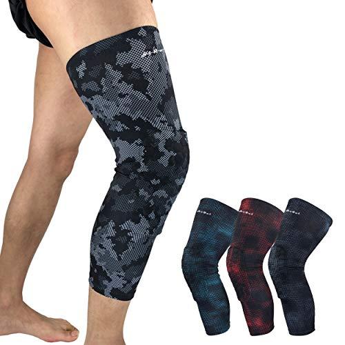 376a071c9fe744 HiRui Knee Pad, Leg Sleeve Knee Brace Knee Support, Honeycomb Crashproof  Basketball Kneepad Football Kneepad, Compression Leg Sleeves for Running,  Cycling, ...
