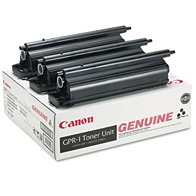 Canon Gpr 1 Digital Copier Toner Cartridge - 3 X Black - 33000 Pages - for Image