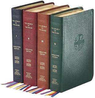 liturgy of the hours 4 volume set