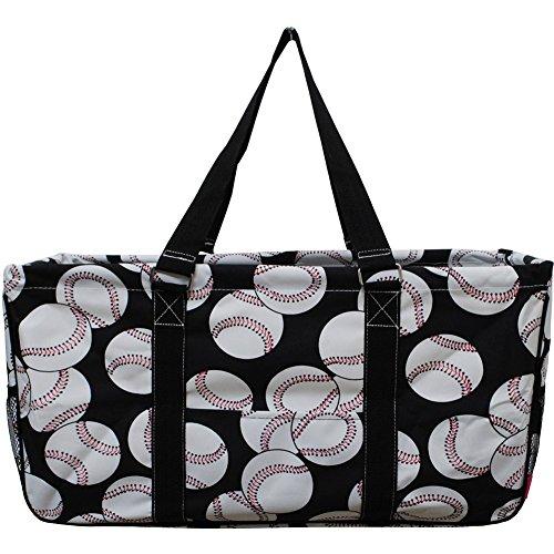 Baseball Print NGIL Utility Tote Bag